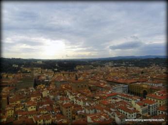 Widok z kopuły Santa Maria del Fiore
