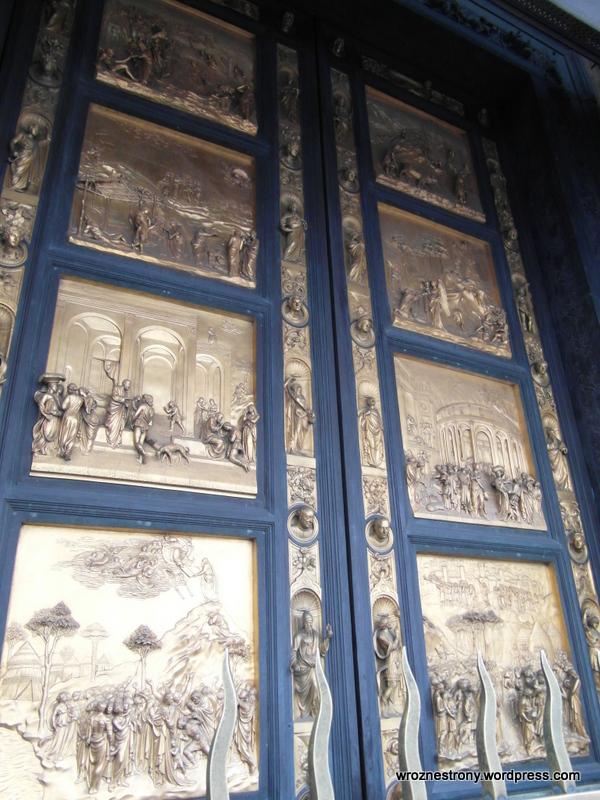 Drzwi baptysterium, Florencja