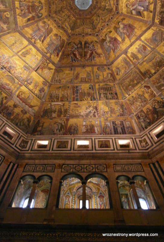Wnętrze baptysterium, Florencja