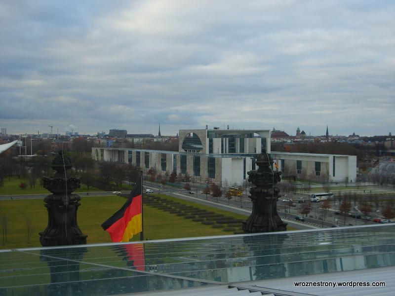 Widok z Reichstagu