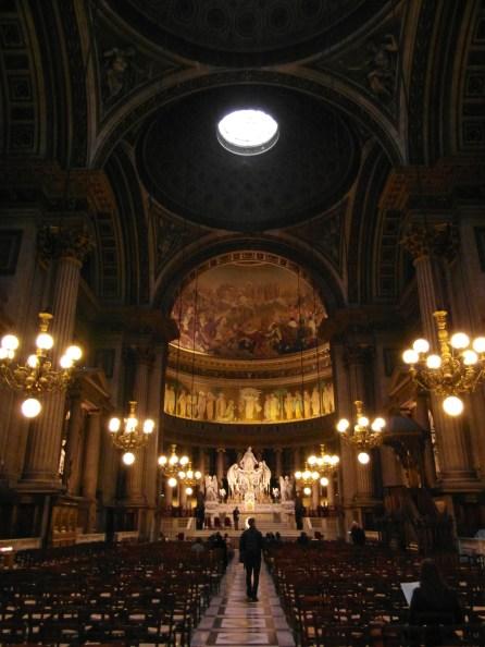 Wnętrze kościoła św. Magdaleny