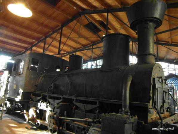 lokomotywa w Niemieckim Muzeum Techniki