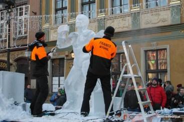 Francuzi i ich rzeźba lodowa