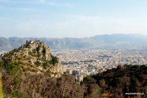 Widok na Palermo z Monte Pellegrino