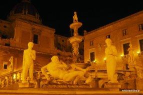 Fontanna Pretoria w Palermo