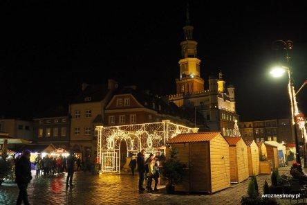 Stary Rynek w Poznaniu w grudniu