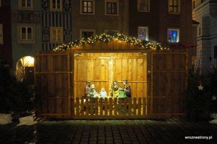 szopka bożonarodzeniowa na Starym Rynku w Poznaniu