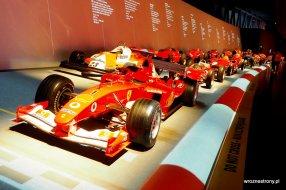 Bolidy F1 w Muzeum Motoryzacji w Turynie, luty 2020