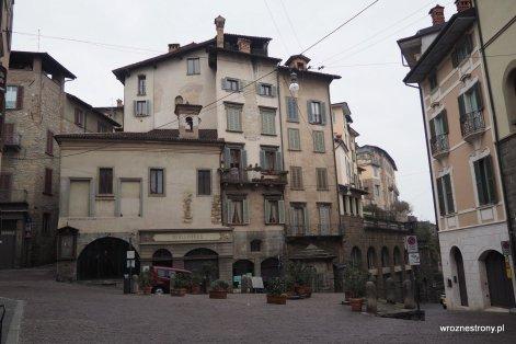 Bergamo, północne Włochy, luty 2020