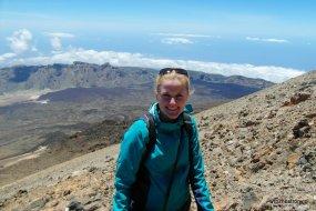Na Teide 3 718 m n.p.m.