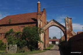 zabudowania XIX-wiecznego folwarku w Dankowie