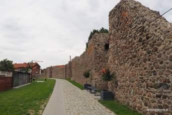 Pozostałości murów w Strzelcach Krajeńskich