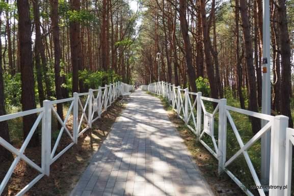 Promenada spacerowa w Międzywodziu