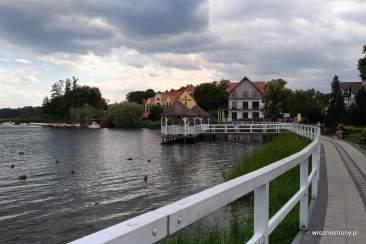 Zabytkowy pomost w Barlinku