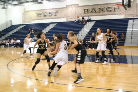 West Ranch Girls' basketball falls to Saugus