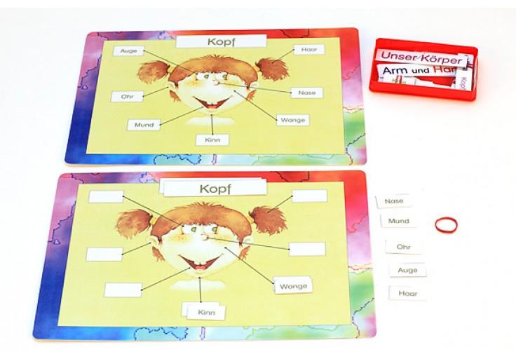 Körper Pflege Sinne - Kindergarten - Alter