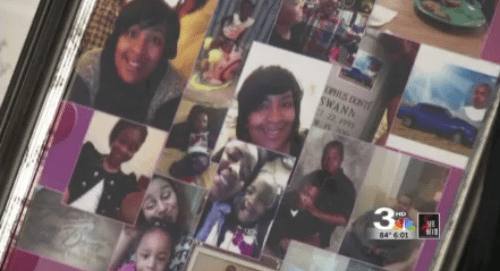 Lateshia Bryant's collage dedicated to her son, Cleophus Donte Swann._34488