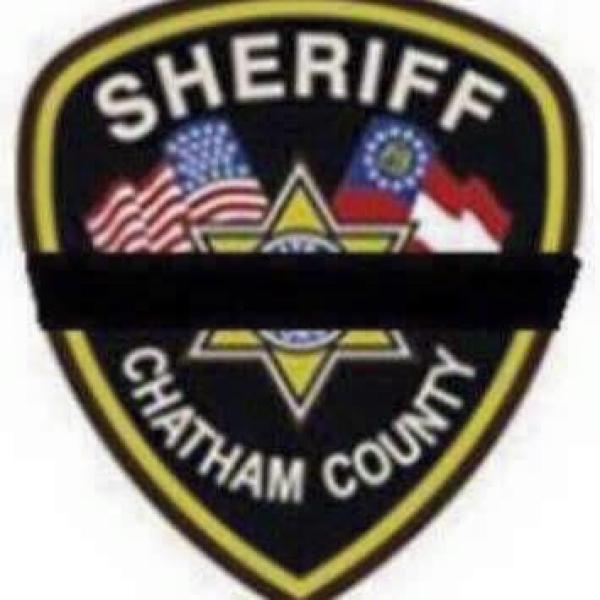 CHATHAM COUNTY SHERIFF'S OFFICE Black stripe_44549