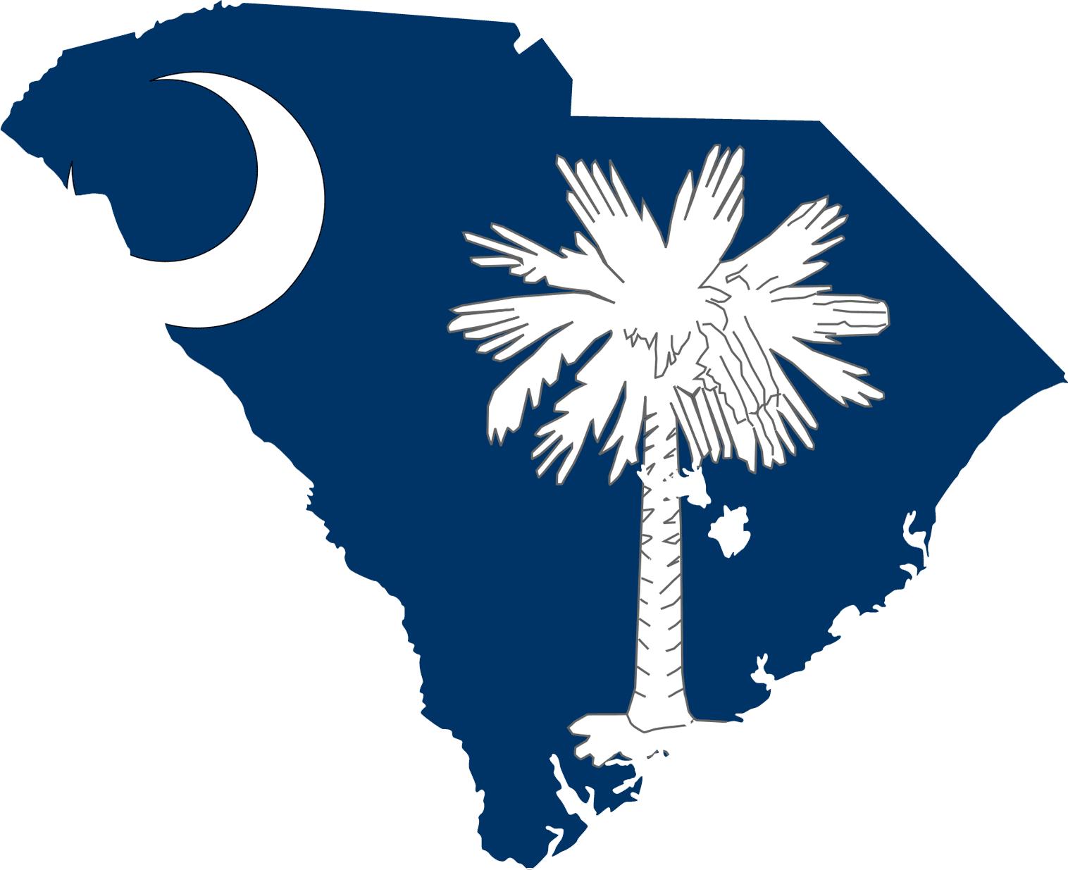 South_Carolina_flag_map_83787