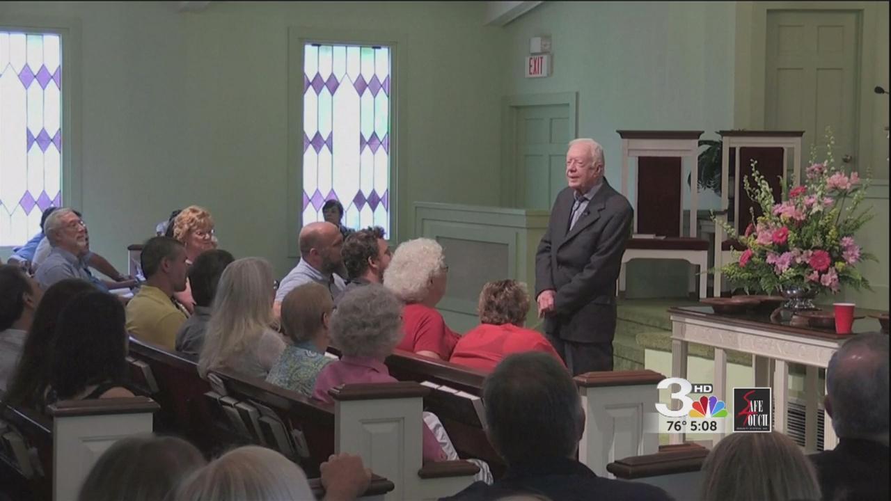 Jimmy Carter talks about Gregg Allman