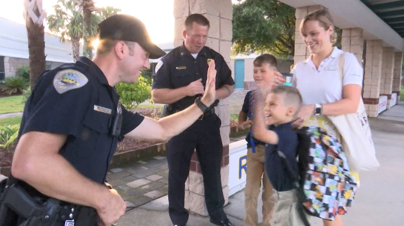 BLUFFTON POLICE BACK TO SCHOOL