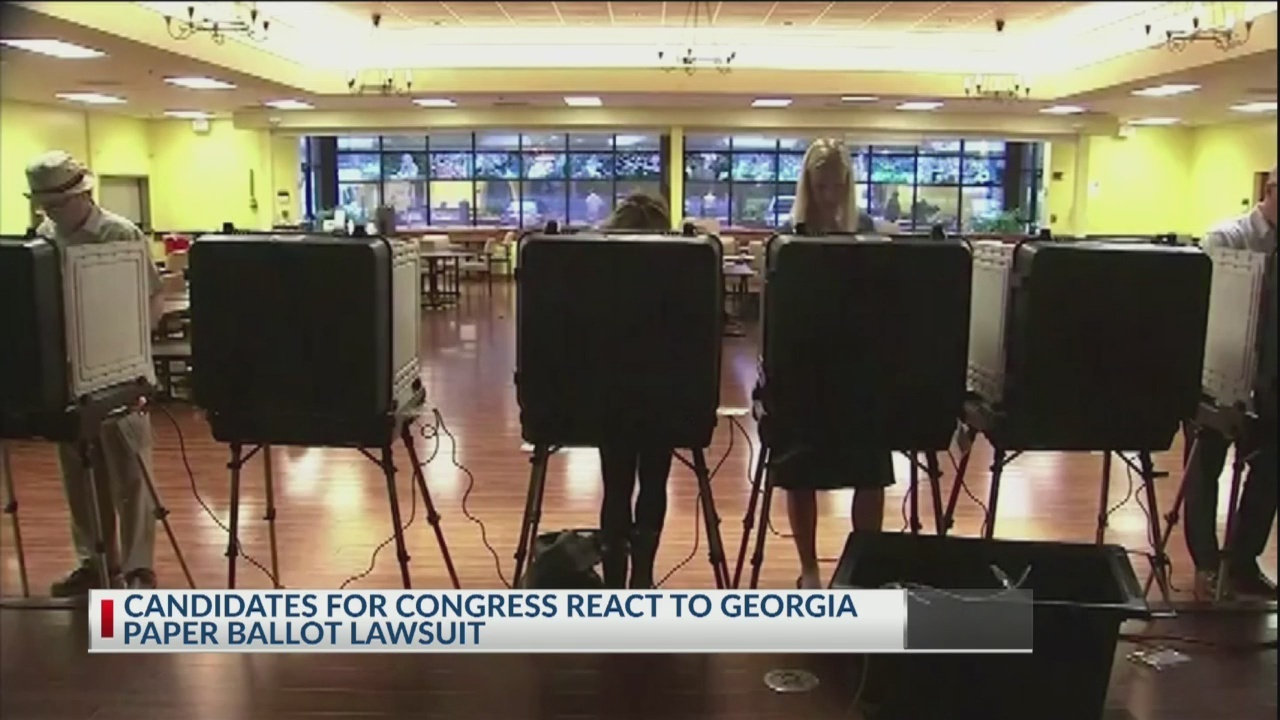 Georgia voters complain they watched their vote switch on the electronic ballot