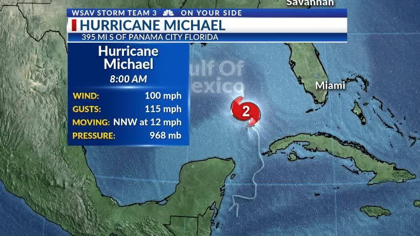 8am Tuesday Michael Update