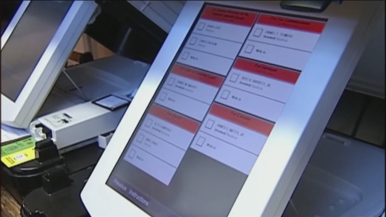 Voting machine irregularities reported
