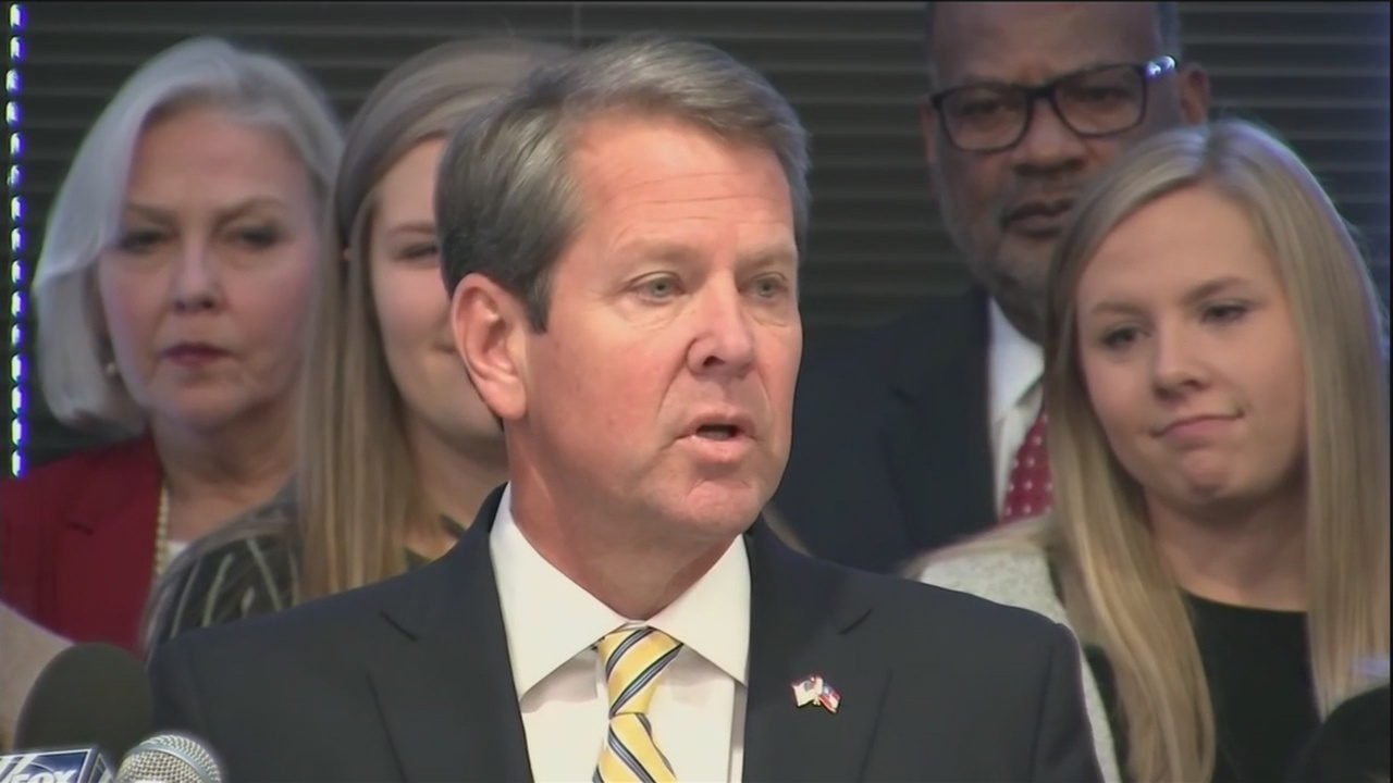 Governor-elect Kemp discusses transition
