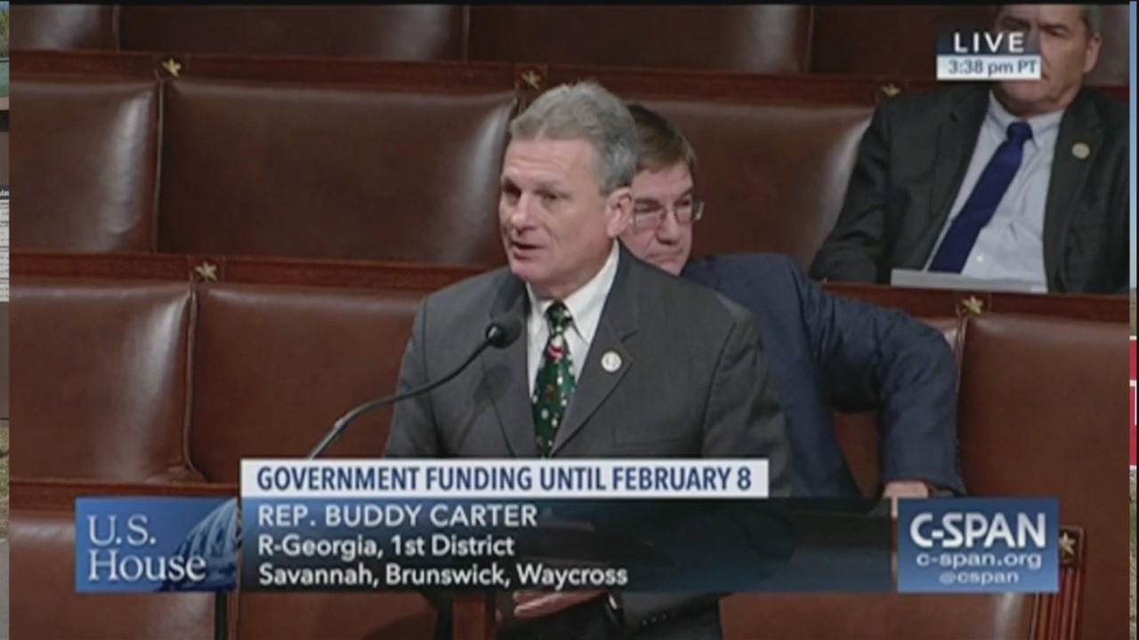 Rep. Carter says he voted for border wall, farmer funding
