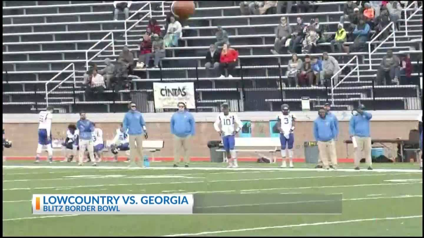 Team Lowcountry knocks off Team Georgia in Blitz Border Bowl