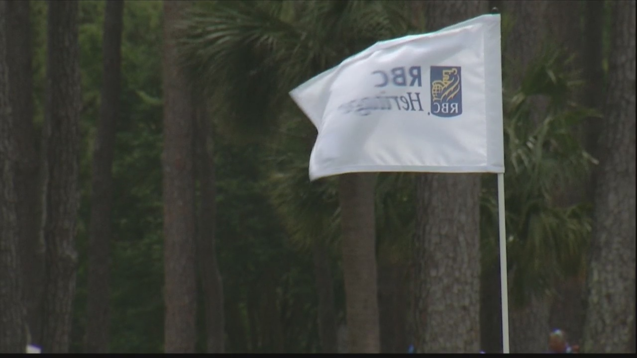 Storm causes delay of play at RBC Heritage
