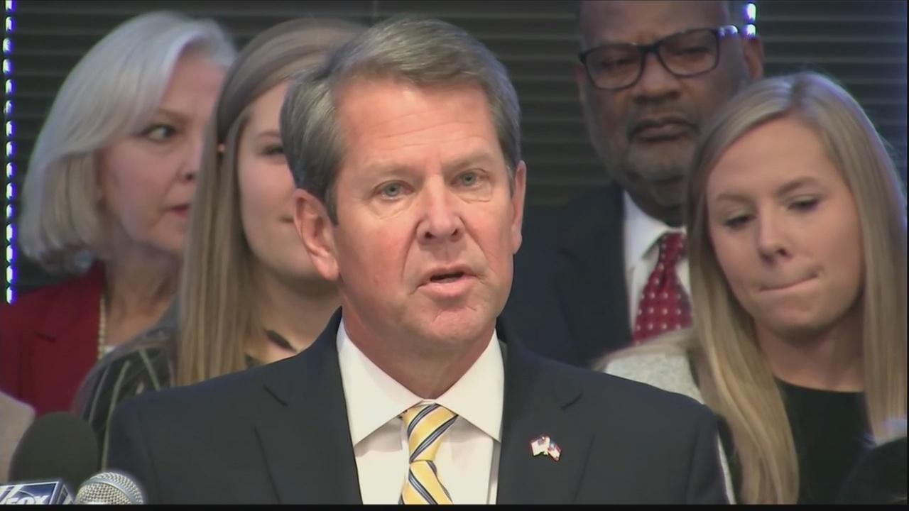 Kemp to sign heartbeat abortion bill