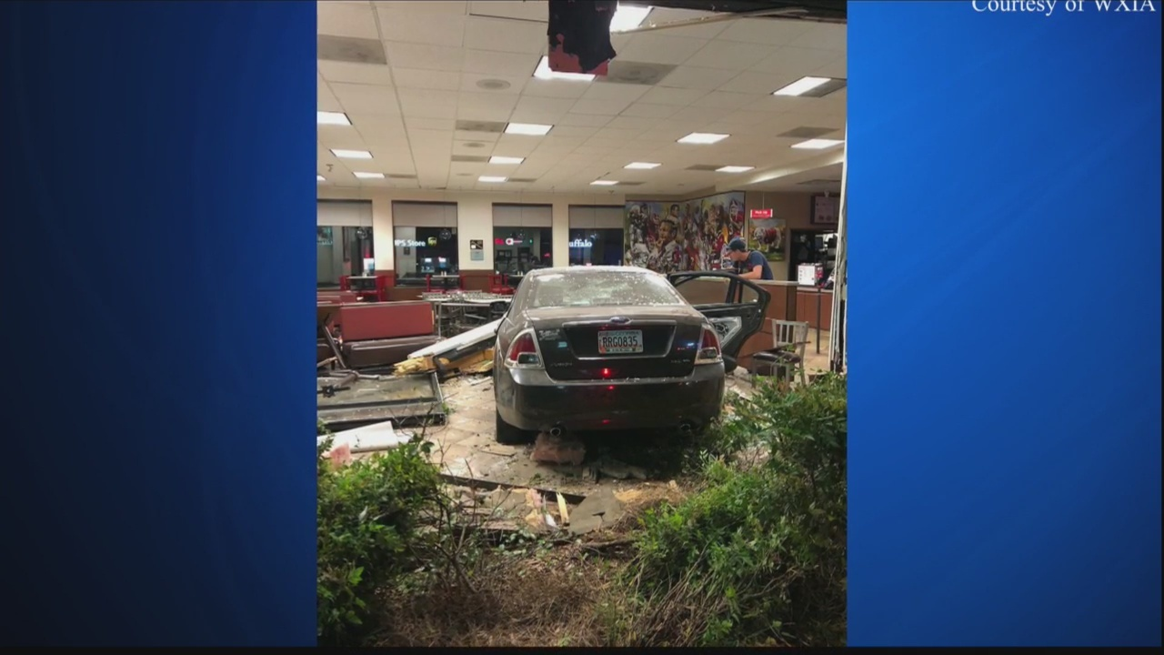 Teen drives car through Athens Chick-fil-A