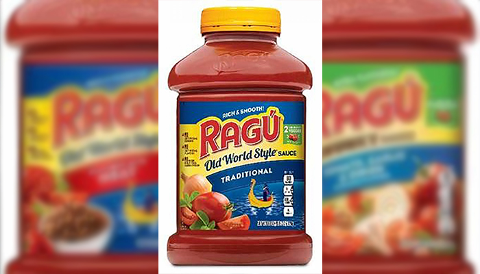 Ragu Recalls Pasta Sauce Over Possible Plastic