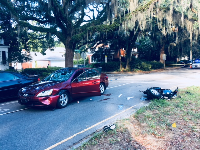70-year-old on scooter seriously injured in Washington Avenue crash