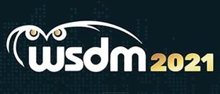 WSDM'21 (March 8-12 2021)