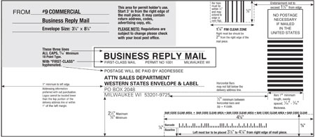 9 Business Reply Template WSEL