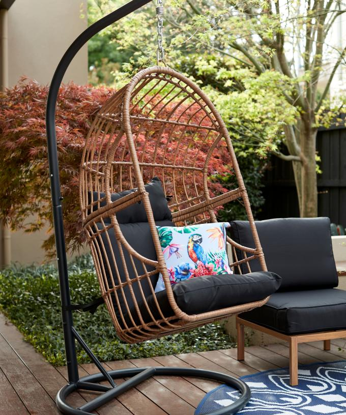 kmart is releasing a swish egg chair as