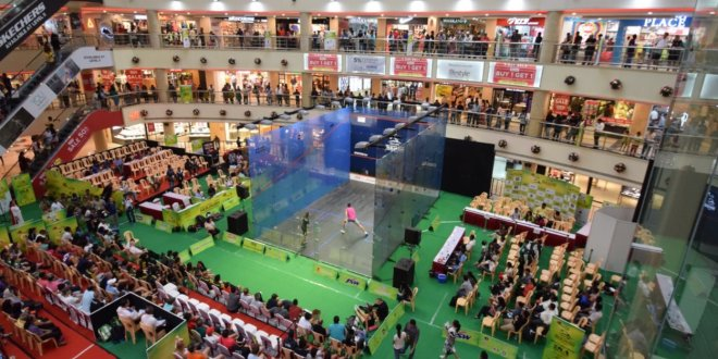 Day Five : Semi-Finals at the Mall