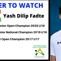 PLAYER TO WATCH | INDIA - Yash Dilip Fadte