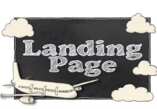 La page d'atterrissage, par les consultants WSI