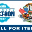 Call for items for the 2020 WSIA Surf Expo Online Charity Auction! Just send us your item information and a photo to be included.