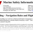 Download the full PDF of the latest USCG Marine Safety Information Bulletin, covering Parasailing Navigation Rules and Flight Safety.