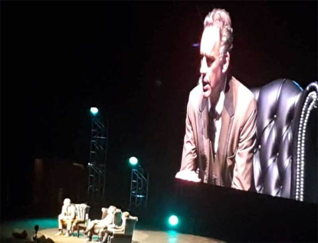 Image result for jordan peterson three arena