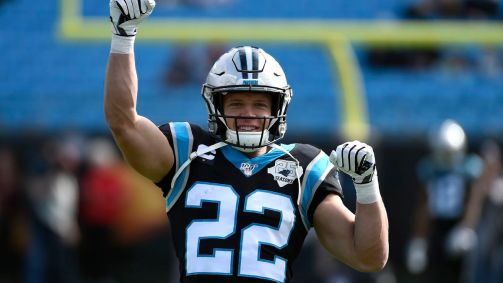 Panthers RB Christian McCaffrey launches campaign to help health care workers