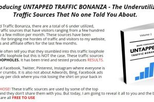 Untapped Traffic Bonanza (Volume 1) by Mark Ferguson