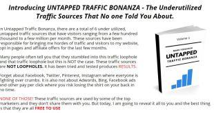 Untapped Traffic Bonanza (Volume 1) by Mark Ferguson
