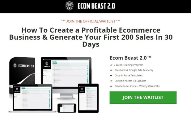 Ecom Beast 2.0 - Harry Coleman Download