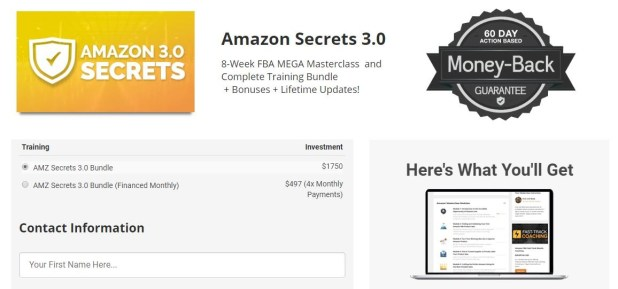 Benjamin Joseph – Amazon FBA Secrets 3.0 Download
